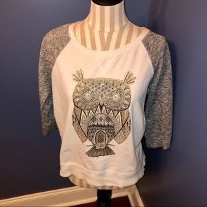 Style & Co. Lightweight Owl Sweater 🦉 SZ PL